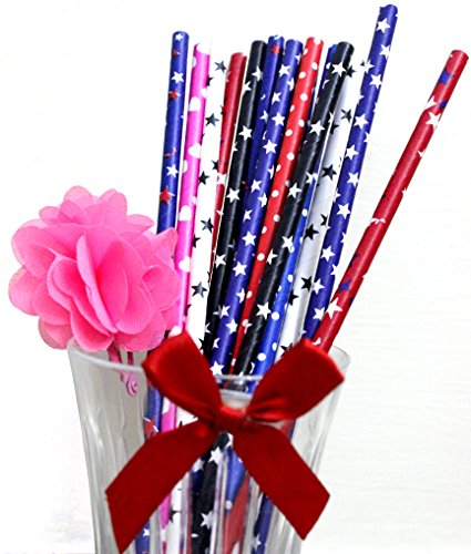 Life Needz | Paper Straws Biodegradable Drinking Straws | Pack of 200, Assorted Colors - Best Party Straws for Birthday, Anniversary, Baby Showers, Weddings and Celebrations & Arts and Crafts