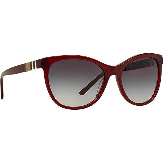 Burberry Women s 0BE4199 35438G 58 Sunglasses, Bordeaux Greygradient ... f34d4745b38a