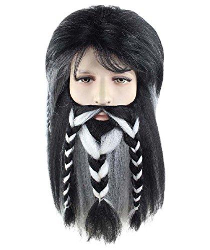 Wig for Cosplay The Hobbit Bifur Wig Adult (Hobbit Wig)