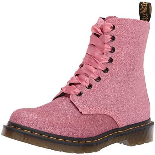 Dr. Martens Womens 1460 Pascal Glitter Pink Size: 5: Amazon