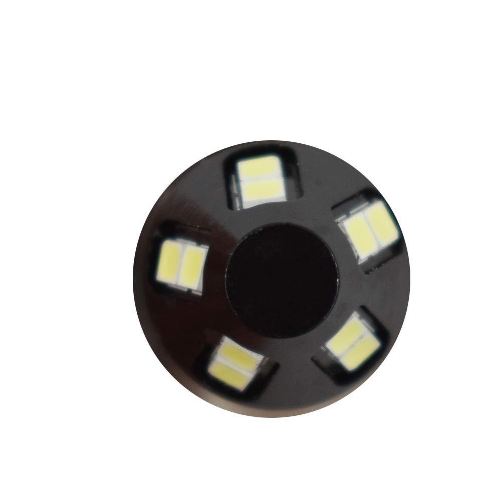 labwork-parts Headlights Fit for Yamaha Raptor 700 700R 06-18 White 6000K LED Bulb H6M 2 Pack