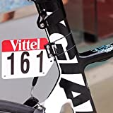 Silverock Custom Racing Number Plate Mount Bracket Holder for Aero V Seatpost