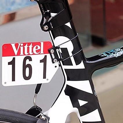 silverock Custom para soporte de placa de número de carreras Aero V tija