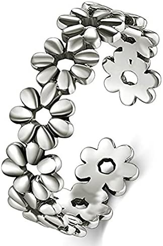 Sterting Silver Flower Hawaiian Adjustable product image