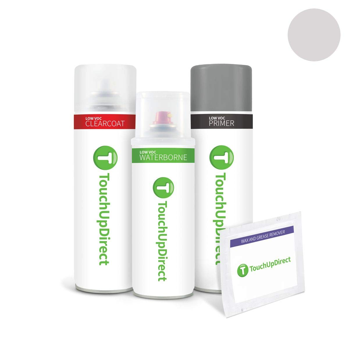 TouchUpDirect for Ford Exact Match Automotive Touch Up Paint - Ingot Silver Metallic (UX) by T TouchUpDirect