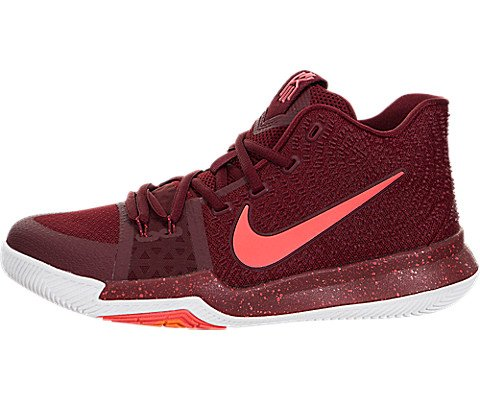 on sale b7d3b ca6e8 NIKE Kid s Kyrie 3 GS, Team Red Hot Punch-White, Youth Size
