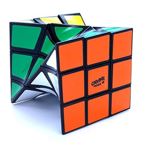 Calvins 3x3x3 Twist Black Shape Mod Puzzle Cube by Eitan Twisty Toy