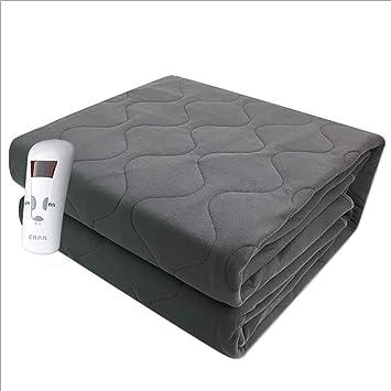 Manta Eléctrica Doble Control Individual Temporización De Temperatura Inteligente Ajuste Dormitorio De Seguridad Impermeable Pinzas Eléctricas