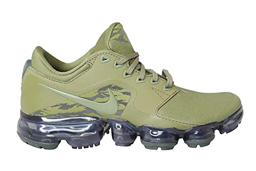 d2197a0ddd Nike Juniors Air Vapormax BG - Medium Olive Sequoia - UK 3.5: Amazon ...