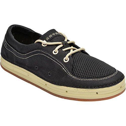 Men's Astral Porter Boating Shoe-Black/Tan-US Size - S Astral