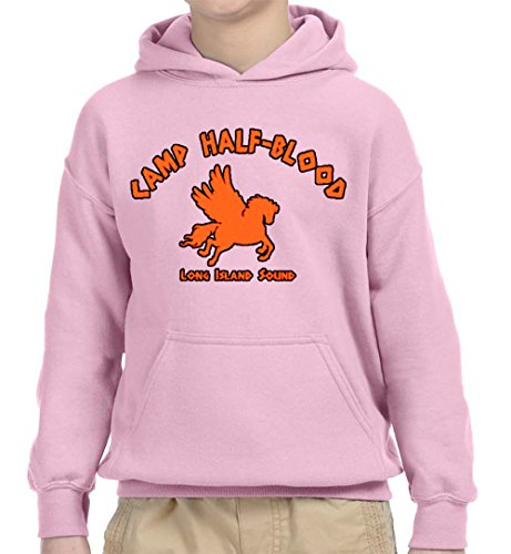 New Way 798 - Youth Hoodie Camp Half-Blood Long Island Sound Demigods Unisex Pullover Sweatshirt Small Light (Island Kids Hoodie)