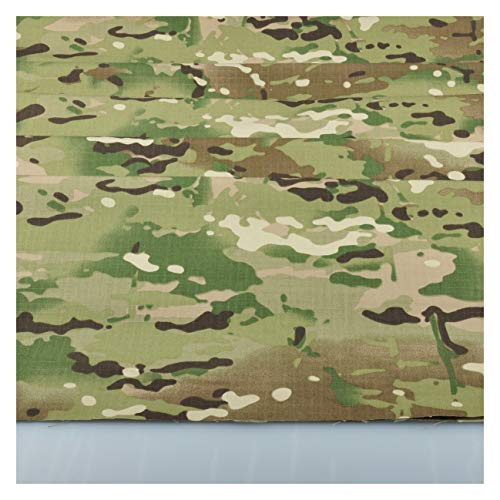 Camo Fabric Camouflage - Multicam Pattern Camo Camouflage Cotton Blend Army Military 60