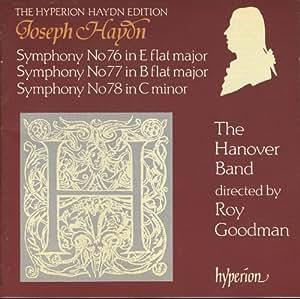 Symphonies 76-78