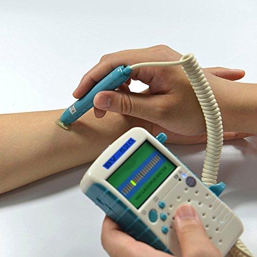 8 Mhz Vascular Probe - 8Mhz Probe Blood Flow Rate Detector Detect Blood Flow Velocity Arterial&Vein Vascular Assessment LED Display Vascular Flow Strength BV520
