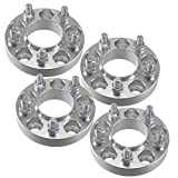 "(4) Dodge 1"" (25mm) Hubcentric Wheel Spacers 5x4.5 Chrysler 300 Challenger Charger Magnum SRT8"