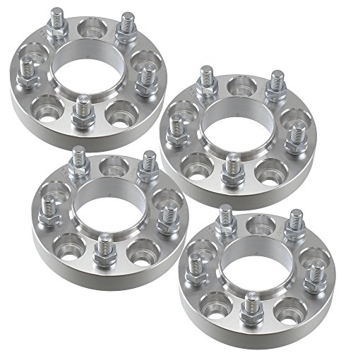 "4x 1"" 5x4.5 Wheel Spacers 14x1.5 Studs 