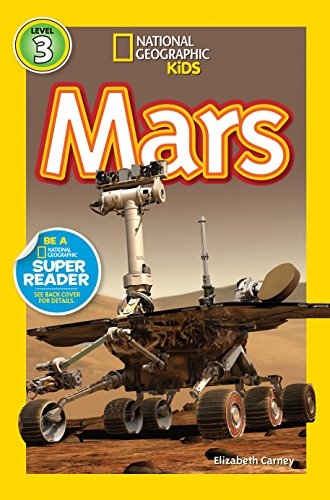 National Geographic Readers: Mars [Elizabeth Carney] (Tapa Blanda)