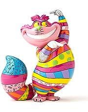Disney by Britto4051799Figura El del Gato de Cheshire de Alicia en el país de Las Maravillas, Multicolor, 11.4 x 6.4 x 14.6 cm
