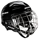 Bauer Youth LIL SPORT Helmet Combo, Black