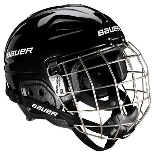 Bauer Youth Lil Sport Helmet Combo, Black