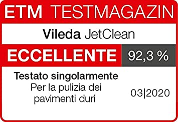 Vileda JetClean Set di Ricambio Due Filtri