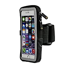 Gear Beast Sports Armband For Samsung Galaxy S8 S8 Plus S7 Edge Note 8 5 Apple iPhone X 6 Plus 6s Plus With Slim Cell Phone Case. Phone Case Armband Holder For Running Jogging Workout Fitness Exercise