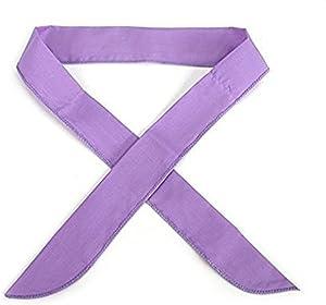 JellyBeadZ Brand Icy Cool Neck Scarfs- Solid Color Purple