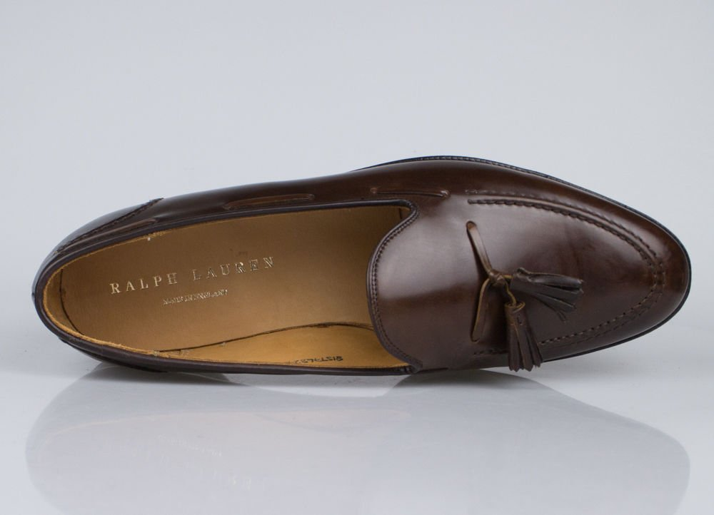 6d57b3dd7 C&J for Ralph Lauren Marlow Cordovan Tassel Loafers Shoes Size 11 England:  Amazon.co.uk: Sports & Outdoors