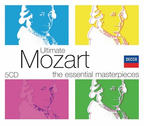 Ultimate Mozart [5 CD Box Set] by Ultimate
