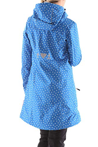 Blutsgeschwister Para Parka Azul Lunares Mujer wqq70aBY