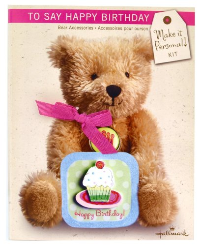 Make It Personal! To Say Happy Birthday Teddy Bear Accessories Kit