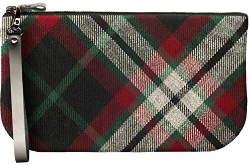 Bag Clutch to Tartan Large Leather iPad Enough Lindsay with Mini Small Fit qBg8XEn5w