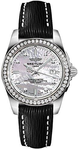 Breitling Galactic 32 Sleek Edition Women's Watch A7133053/A801-208X