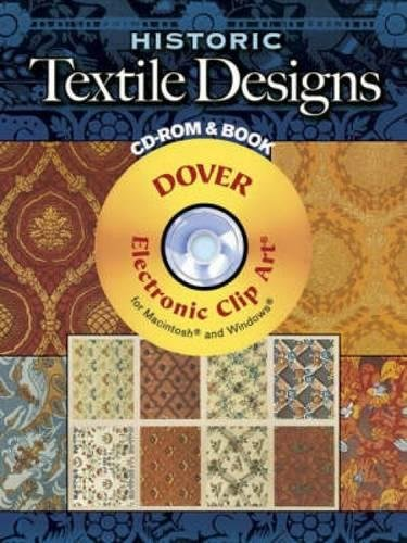Historic Textile Designs Cd Rom And Book  Dover Electronic Clip Art