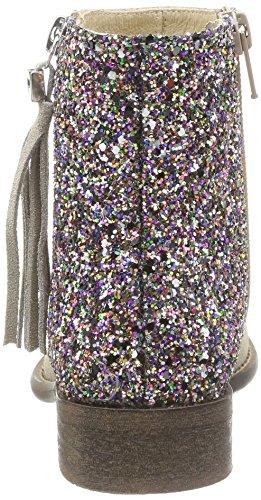 Yep Mädchen Amelle Stiefel & Stiefeletten Mehrfarbig (glitter Beige/multicolore)