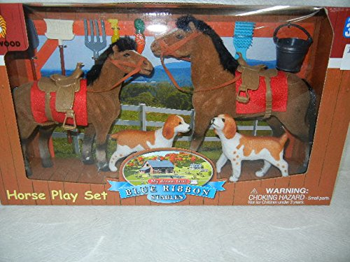 Blue Ribbon Stables My Dream Land Horse Play Set - Horse Ribbon