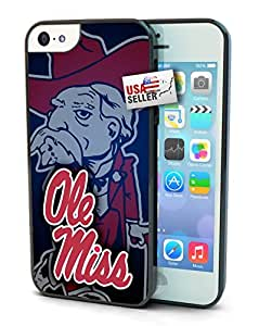 Ole Miss Rebels Cell Phone Hard Protection Case for iPhone 5 and 5s