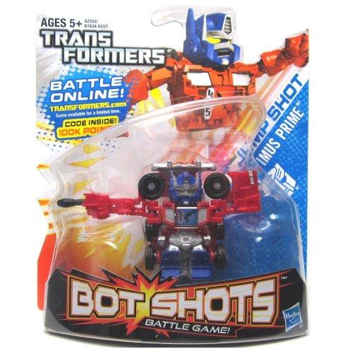 Transformers, Bot Shots Series 2 Figure, Jump Shot Optimus