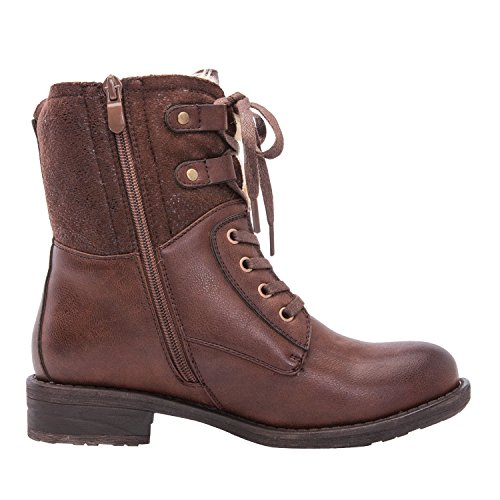 Global Win Frauen KadiMaya16YY05 Stiefel 18braun
