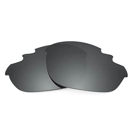 89a14349a7 Revant Polarized Replacement Lenses for Oakley Half Jacket Vented Elite  Black Chrome MirrorShield®  Amazon.co.uk  Clothing