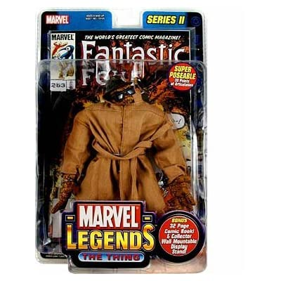 Marvel Legends Series 2 > The Thing (In Trenchcoat) action figure: Toys & Games