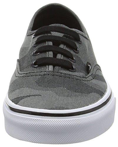 Chaussures À camo Jacquard Véritable Faible Top Camionnettes Des Noir Gris Sport Adultes De Unisexes Authentiques Blanc 1Hpq4