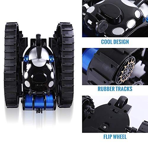 Räder Flip Stunt Car Modell RC Fernbedienung Panzer Battle Stunt Car Kid Toy, QHJ Fernbedienung Spielzeug, Um Ihr Kind…