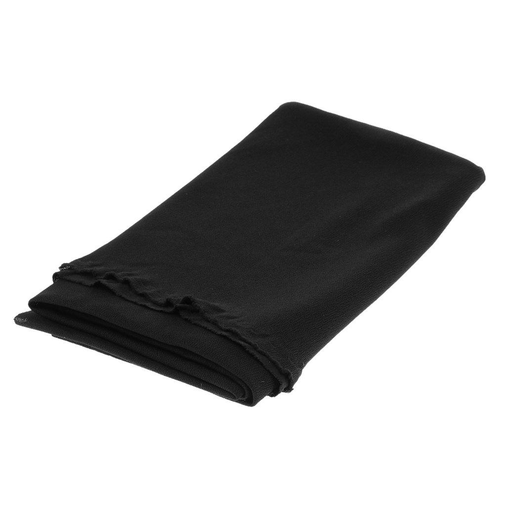 Baoblaze Speaker Grill Cloth Sté ré o Gille Tissu Haut-parleur Radio Mesh Cloth Noir 170x50cm