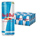 red bull can - Red Bull Sugarfree, Energy Drink, 8.4 Fl Oz Cans (6 Packs of 4, Total 24 Cans)