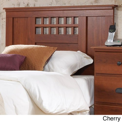 Lang Furniture Bayfield Panel Full Size Headboard with a Traditional Cherry (Maple Traditional Headboard)