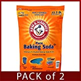 Arm & Hammer Pure Baking Soda - 13.5 lb bag (Pack of 2)