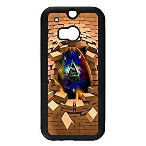 Htc One M8 Case Creative 3D Design Psychedelic Rock Band Pink Floyd Phone Case Cover Pink Floyd Modern Design