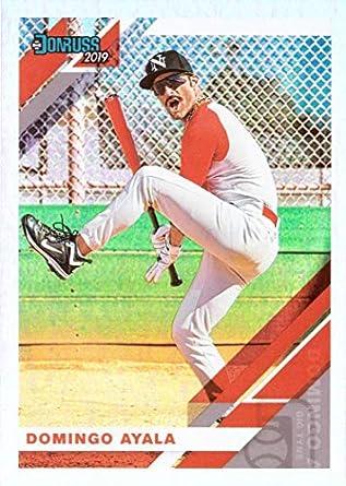 Amazoncom 2019 Panini Donruss 251 Domingo Ayala Baseball