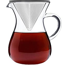 7. Pour Over Coffee Maker Set made by Barista Warrior